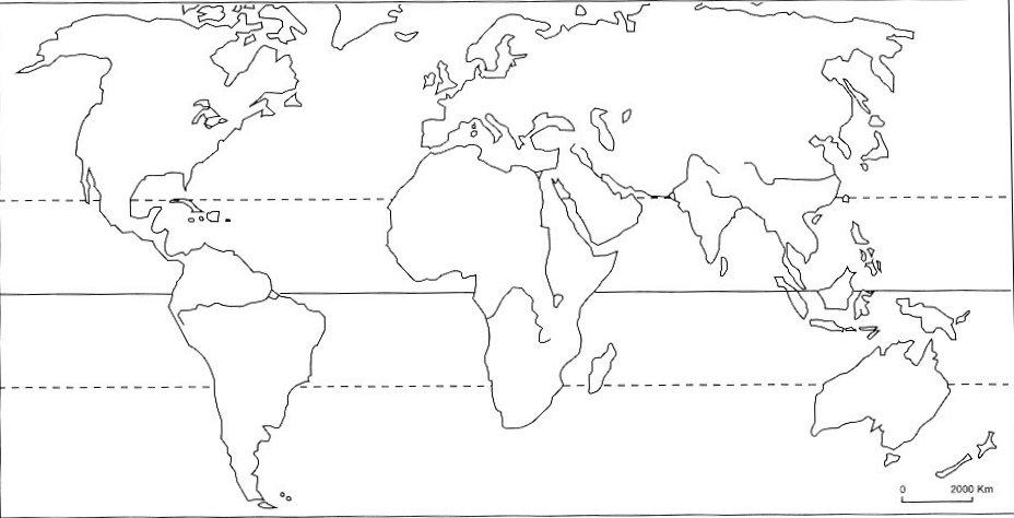 Carte Du Monde Avec Les Lignes Imaginaires | popkensburg